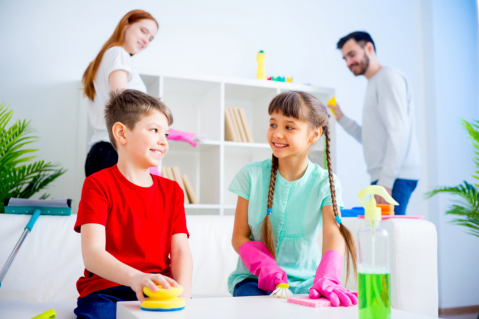 House Chores Can Help Your Child Become Responsible